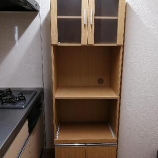【ネット決済】ニトリ食器棚(1年半使用)