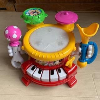 ディズニー マジカルバンド 楽器 音のなるおもちゃ