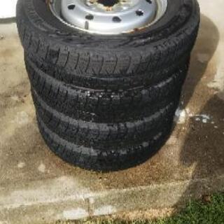 145/80R13 スタッドレスタイヤ ホイールセット