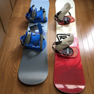 スノーボード一式 2セット