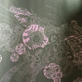抽象画 絵画 原画 ピンク