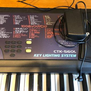 電子ピアノ カシオ CTK-560L