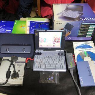 VAIO史上最小サイズ PCG-U1 希少な中古美品 無線LAN...
