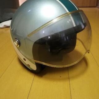 ヘルメット 緑?KIDS用