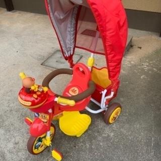 【ネット決済】お譲りします! アンパンマン 三輪車