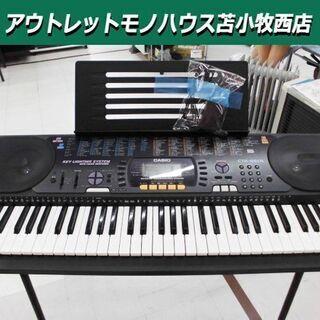電子キーボード カシオ CTK-660L 光ナビゲーション 幅9...