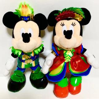 ミッキー&ミニー   ホットジャングルサマー   ぬい…