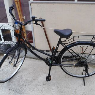 AEONBIKE 6段変速中古自転車 26インチ