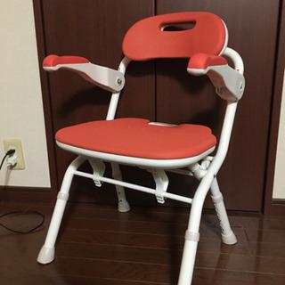 新品同様 介護 お風呂椅子 折り畳み可能