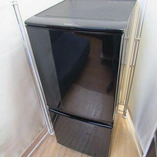 J1616/冷蔵庫/2ドア/どっちもドア/右開き/左開き/ブラッ...
