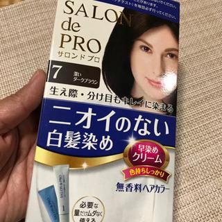 白髪染め(サロンドプロ)