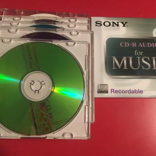 未使用*CD-R