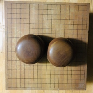 囲碁 古いですが 木材不明 値下げ