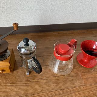 コーヒーセットの画像