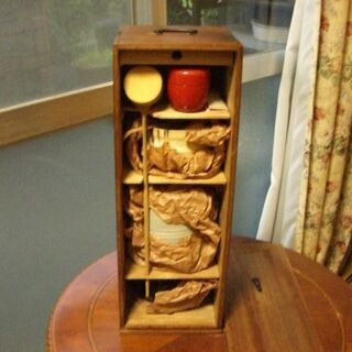 茶道具セット 桐短冊箱 茶道具セットの画像