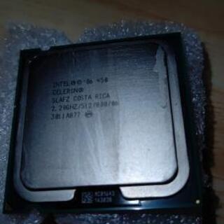 パソコンのCPU INTEL CELERON