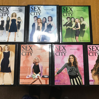 SEX AND THE CITY DVD18枚
