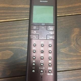 コードレス電話機 取説有り 2800円