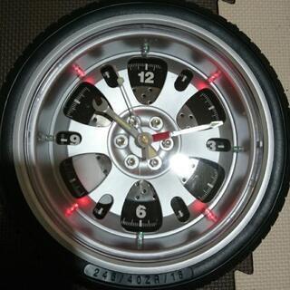 ホイール型  掛時計