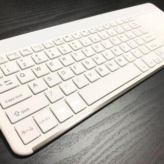【値下げ】ワイヤレスキーボード 軽量 タッチパッド付き