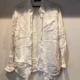 (相談中)しわ加工のシャツ