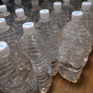 ☆。◕‿◕。)ノ サントリーの水が入ってたペットボトル ☆。◕‿...