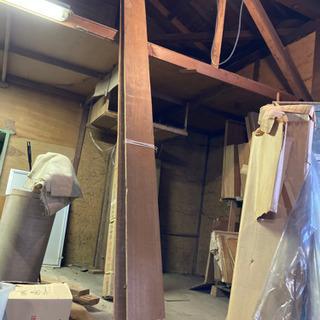 3メートルありそうな長い材木、端材木材日曜大工、DIYに★知立市