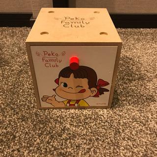 [新品未使用]ペコちゃん引き出しボックス