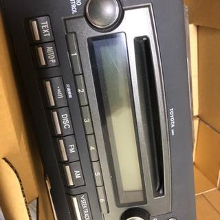 アイシス(トヨタ)標準オーディオ