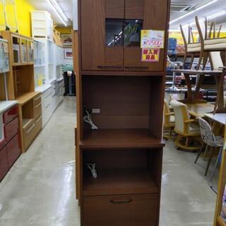 2面食器棚 レンジボード 70幅×49×205高cm 1006-01