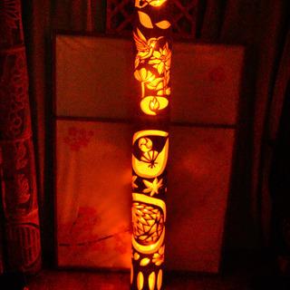 大型竹灯籠 〜〜和蓮〜〜