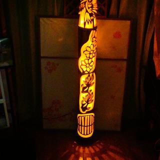 大型竹灯籠  〜〜水と空〜〜