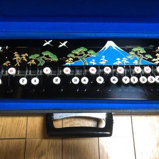 【中古】レア楽器!大正琴