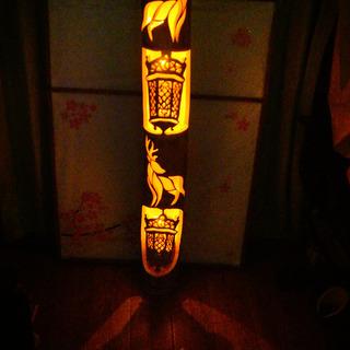 大型竹灯籠 〜〜古都奈良〜〜
