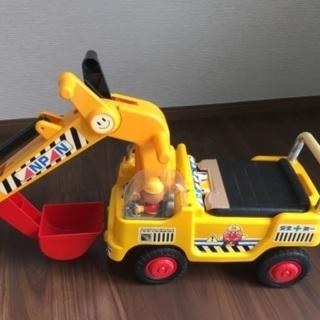 乗用玩具 アンパマンショベルカー