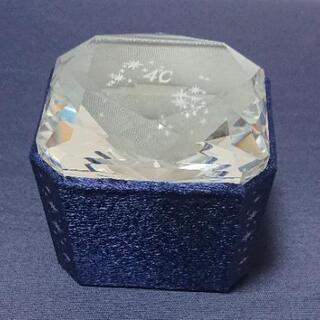 【非売品】4℃ 小型ジュエリーケース  クリスタルジュエリーケース