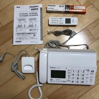 新古品 美品 おたっくす電話ファクス 6,000円 KX-PD2...