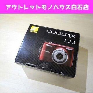 Nikon デジタルカメラ COOLPIX L23 1010万...