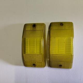 トラックサイドウインカーレンズ イエロー 黄色