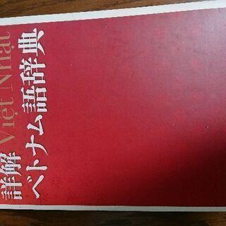 詳解 ベトナム語辞典 川本邦衛 編