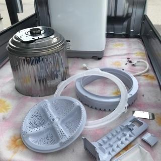 2017年製シャープ全自動洗濯機ホワイト容量6キロ美品。千葉県内配送無料。設置無料。 - 家電