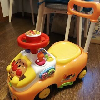 【ネット決済】アンパンマン よくばりビジーカー 押し棒+ガードなし