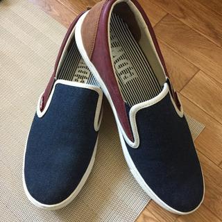美品 EDWIN メンズ 靴 スニーカー 27.0