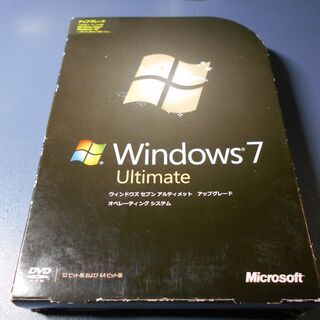 Windows 7 Ultimate 32bit/64bi…