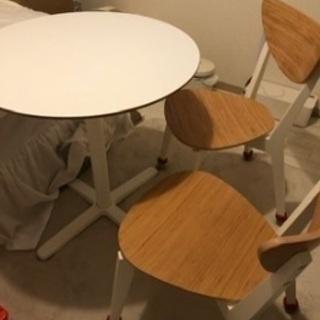 丸テーブル 白 ホワイト
