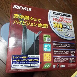 【中古】 BUFFALO 無線LAN親機  WZR-HP-…
