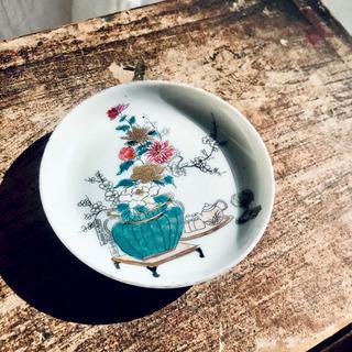 美しいお品物◇ 小皿 小物置き インテリア アンティーク 陶器 ...