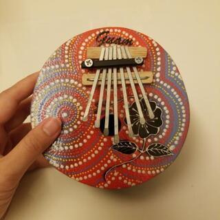 カリンバ(雑貨、楽器、丸)