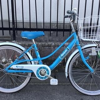<美品>20インチ・子供用・自転車・ブルー
