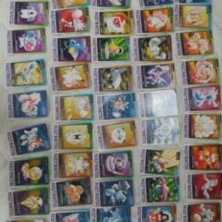 20年以上前のポケモンカード カードダスガチャ